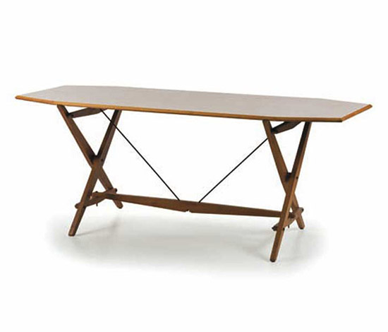 Wooden table, mod. TL2