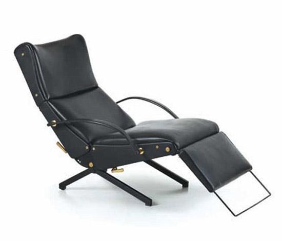 Adjustable armchair, mod. P40