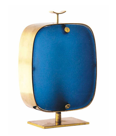 Two color table lamp, mod n°2049