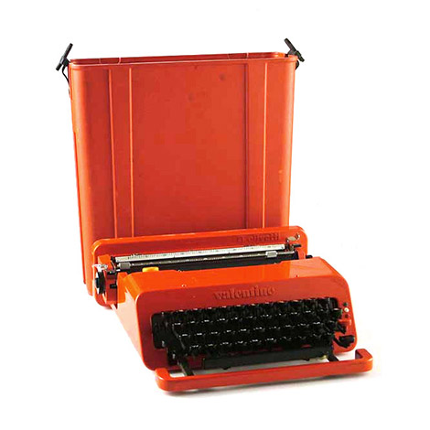 "Olivetti ""Valentina"" typewriter by Wannenes Art Auctions"