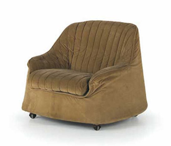"""Pair of """"Ciprea"""" armchairs di Wannenes Art Auctions"""