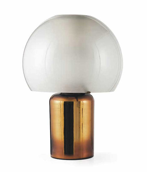 Italian glass table lamp