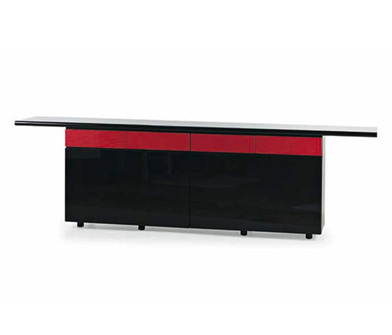 """Multi - Sheraton"" laquered sideboard"