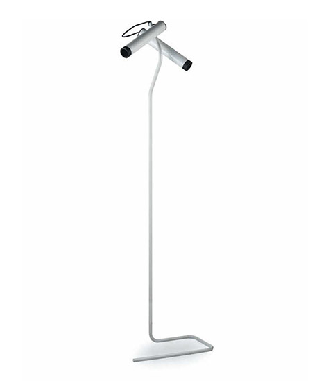 """Idomedue 320"" metal floor lamp"