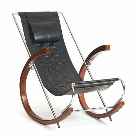 """Donna"" rocking chair von Wannenes Art Auctions"