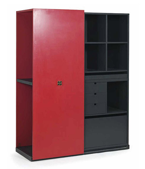 """""""Duetto"""" wooden cabinet"""