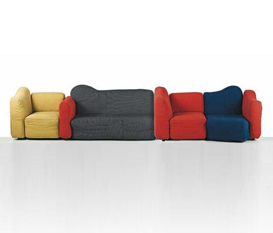 "Modular ""Cannaregio"" sofa"