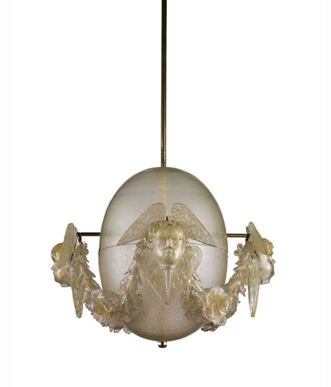 "Ceiling lamp for ""Monte dei Paschi"""