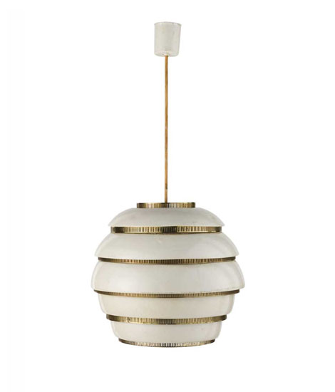 Metal ceiling lamp, mod n° A331