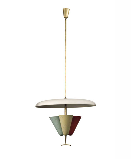 Aluminium ceiling lamp