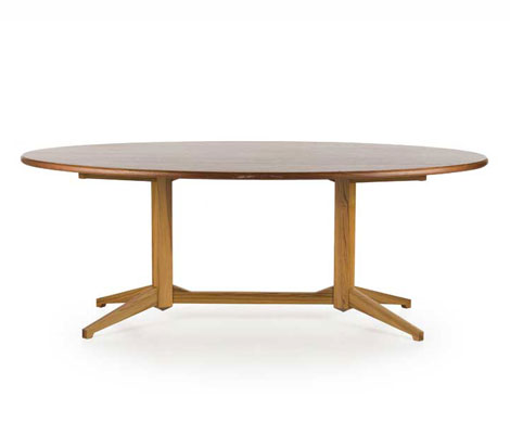 Wooden table, model Tl22