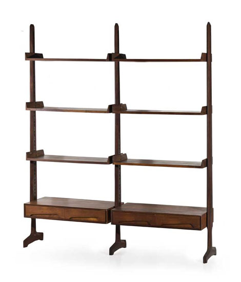 Rosewood book case