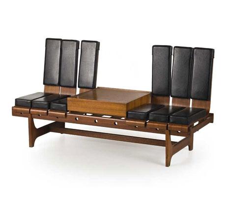 Teak wood bench by Wannenes Art Auctions