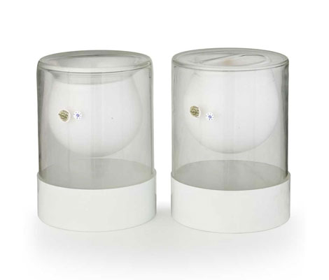 Wannenes Art Auctions-Pair of table lamp prototypes