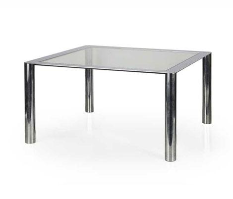 Chromium plated steel table, mod 912