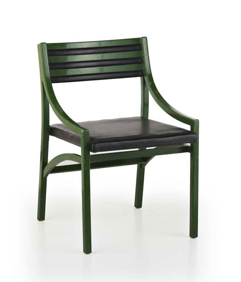 Set of four chairs, model 110