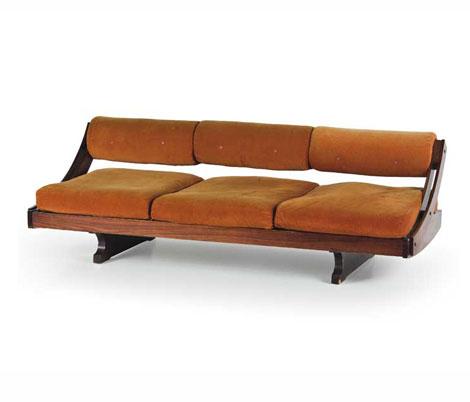 Rosewood sofa, mod GS 195
