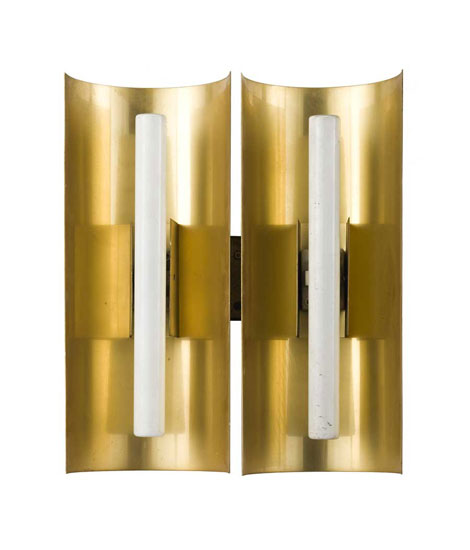 Pair of sconces, from Centro Gallini by Wannenes Art Auctions