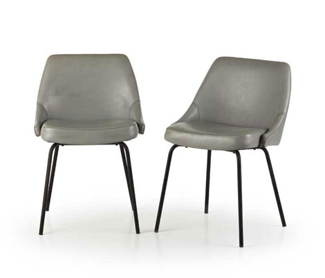 "Wannenes Art Auctions-Four ""Airone"" chairs (Centro Gallini)"