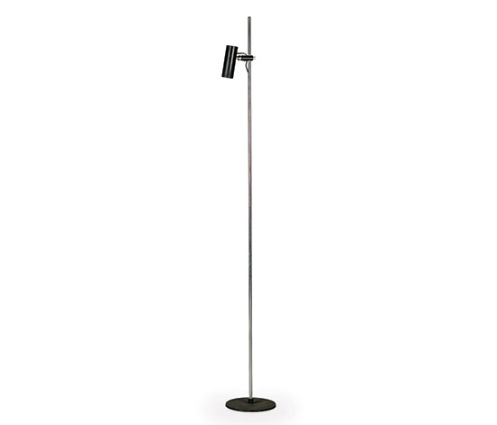 Metal floorlamp, mod n° 1055 SP de Wannenes Art Auctions