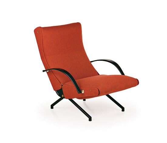 'P40' adjustable armchair de Wannenes Art Auctions