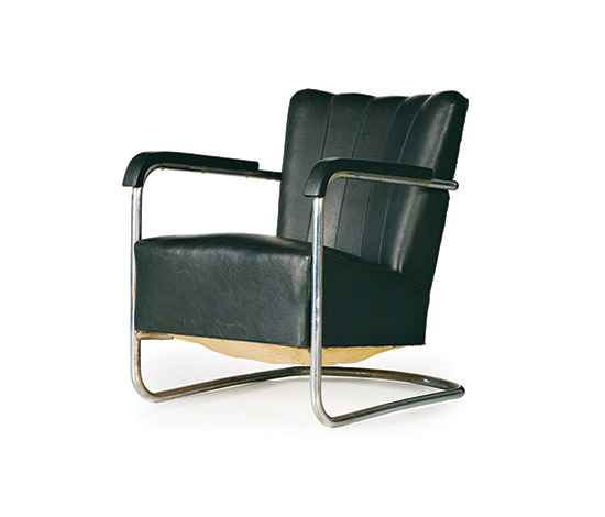 Wannenes Art Auctions-Pair of Italian cantilever armchairs