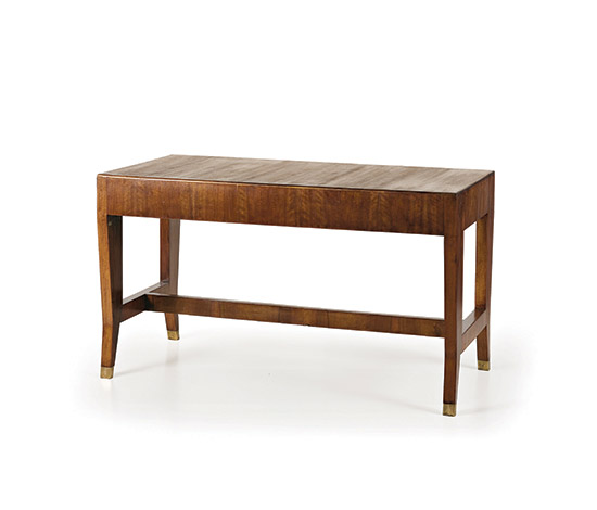 Wannenes Art Auctions-Mahogany wood table