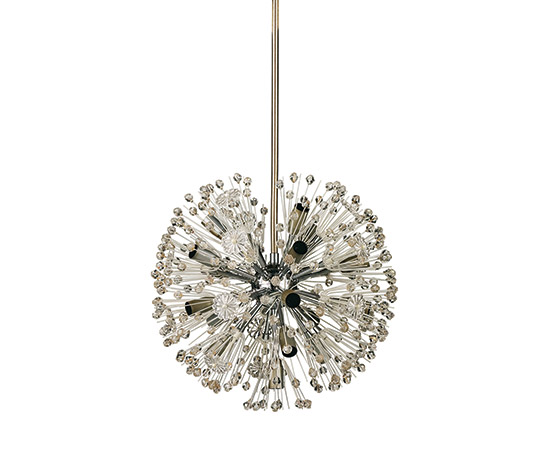 Wannenes Art Auctions-Pair of metal and plastic ceiling lamps