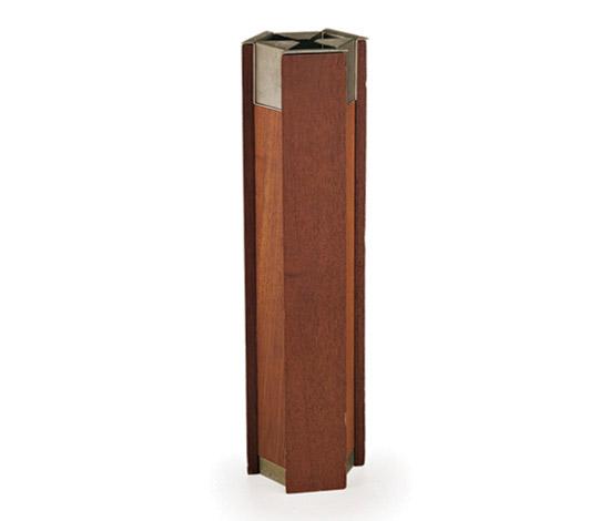 Wannenes Art Auctions-Teak wood standing ashtray