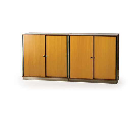 Pair of office cabinets