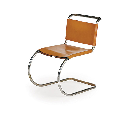 Four 'MR10' cantilever chairs