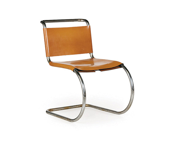 Four 'MR10' cantilever chairs von Wannenes Art Auctions