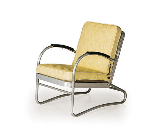 Wannenes Art Auctions-Pair of aluminum armchairs