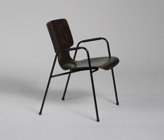 609/1 Chair de Wilkhahn Design Archiv