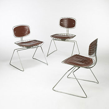 Beaubourg chairs, set of six