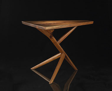 Conoid end table