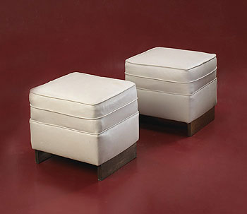 Pair of stools for Price Tower