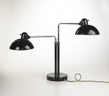 Double Dell table lamp, model 6580