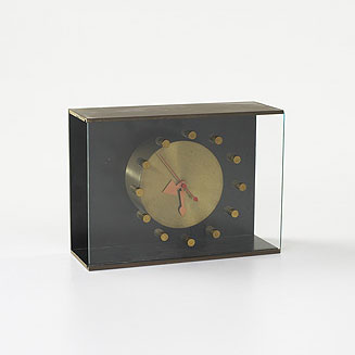 Shadow Box clock, model 4763 by Wright