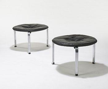 PK-33 stools, pair