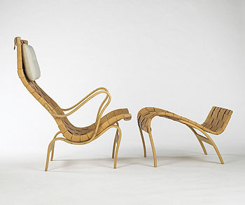 Wright-Lounge chair/ottoman