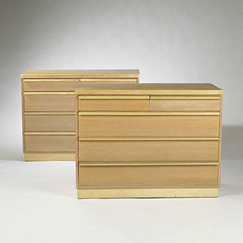 Dressers, pair