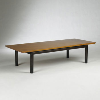 Convertible coffee table by Wright