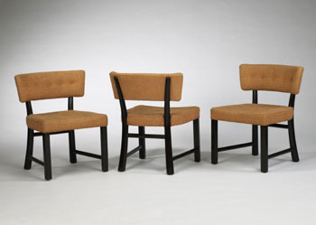 Dining chairs, set of six di Wright