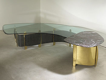 Dining table for the Weinstein Residence