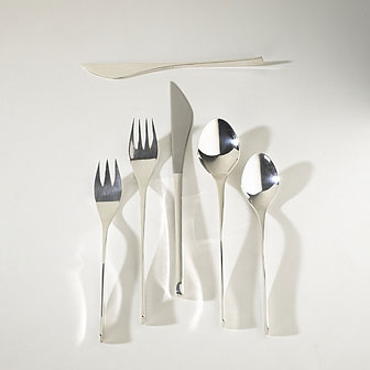 Vision sterling silver flatware service