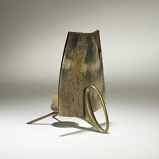 Horn candlestick