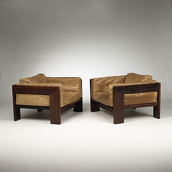 Bastiano chairs, pair