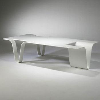 Una table