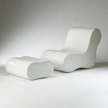 Alvar lounge/ottoman